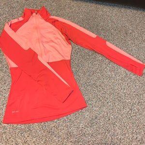 Nike Pro Dri-fit 3/4 Zip Long Sleeve Top
